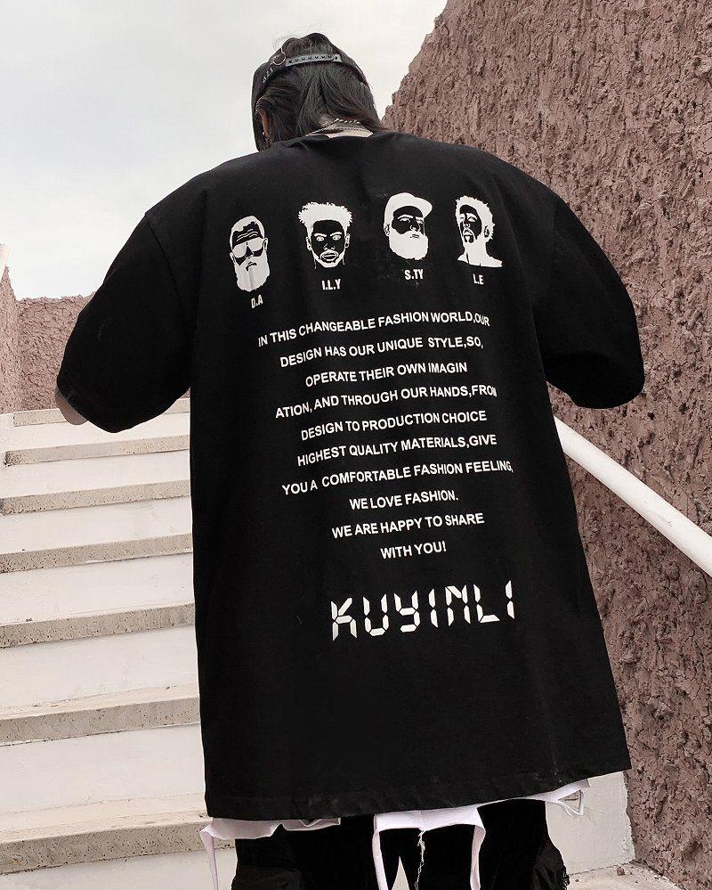 《2色》4guysTシャツの画像1